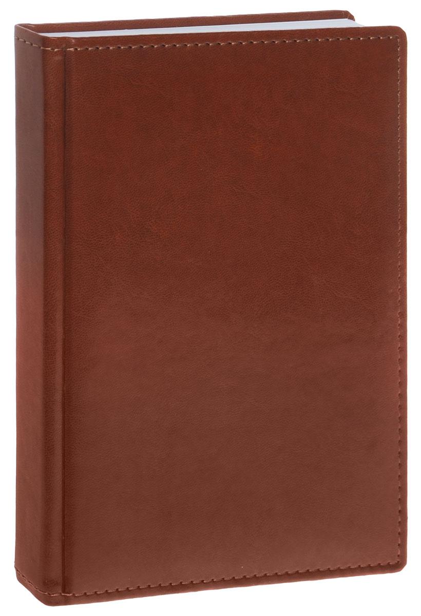 Berlingo Ежедневник Caprice Prestige недатированный 176 листов цвет коричневый