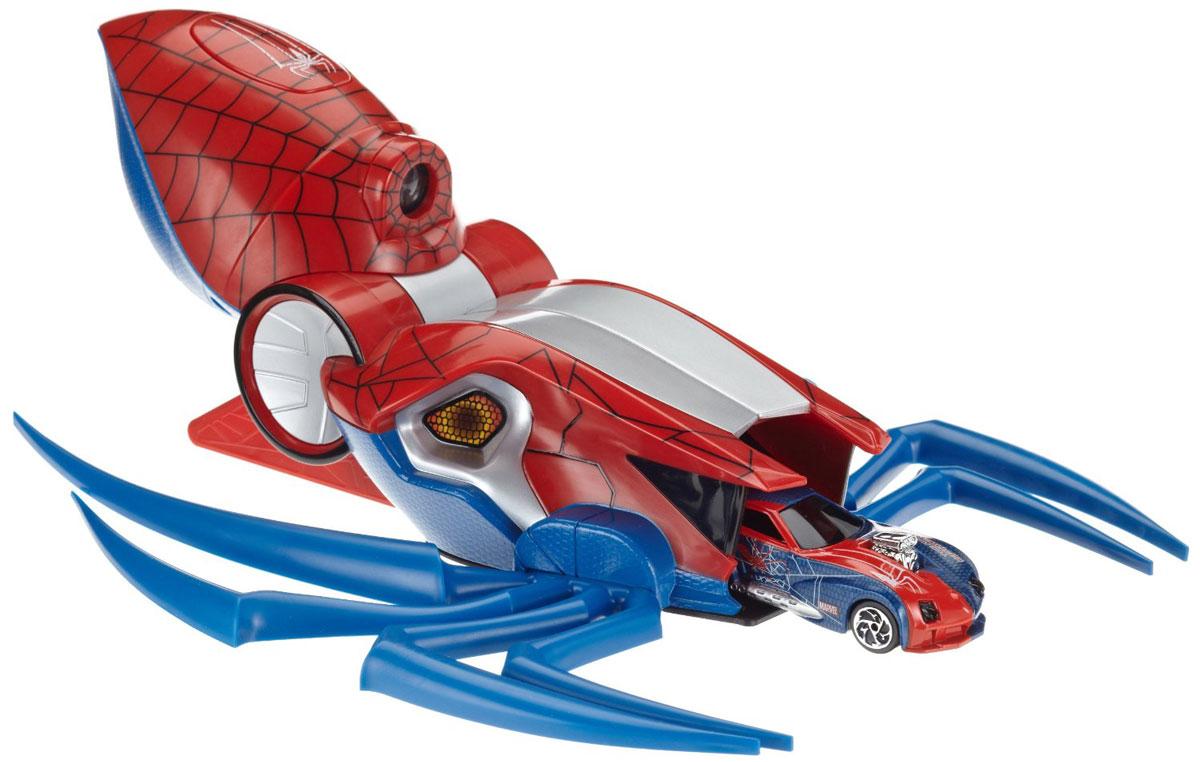 Majorette Игровой набор Пусковая установка Человек Паук3089715Игровой набор Majorette Пусковая установка. Человек-паук, выполненный из безопасного пластика, станет любимой игрушкой вашего малыша. В набор входит машинка и пусковое устройство в виде яркого паука. Набор выполнен из безопасного пластика и оформлен в стиле супергероя Человек-паук. Поместив автомобиль в пусковое устройство, и нажав кнопку, машинка способна вылететь со значительной скоростью из установки и устремиться вперед. Пусковое устройство дополнено ярким прожектором. Игры с этим ярким набором развивают концентрацию внимания, координацию движений, мелкую и крупную моторику, цветовое восприятие и воображение. Ваш малыш отлично проведет время, придумывая различные истории и интересные ситуации. Для работы требуются 3 батарейки типа АА (не входят в комплект).