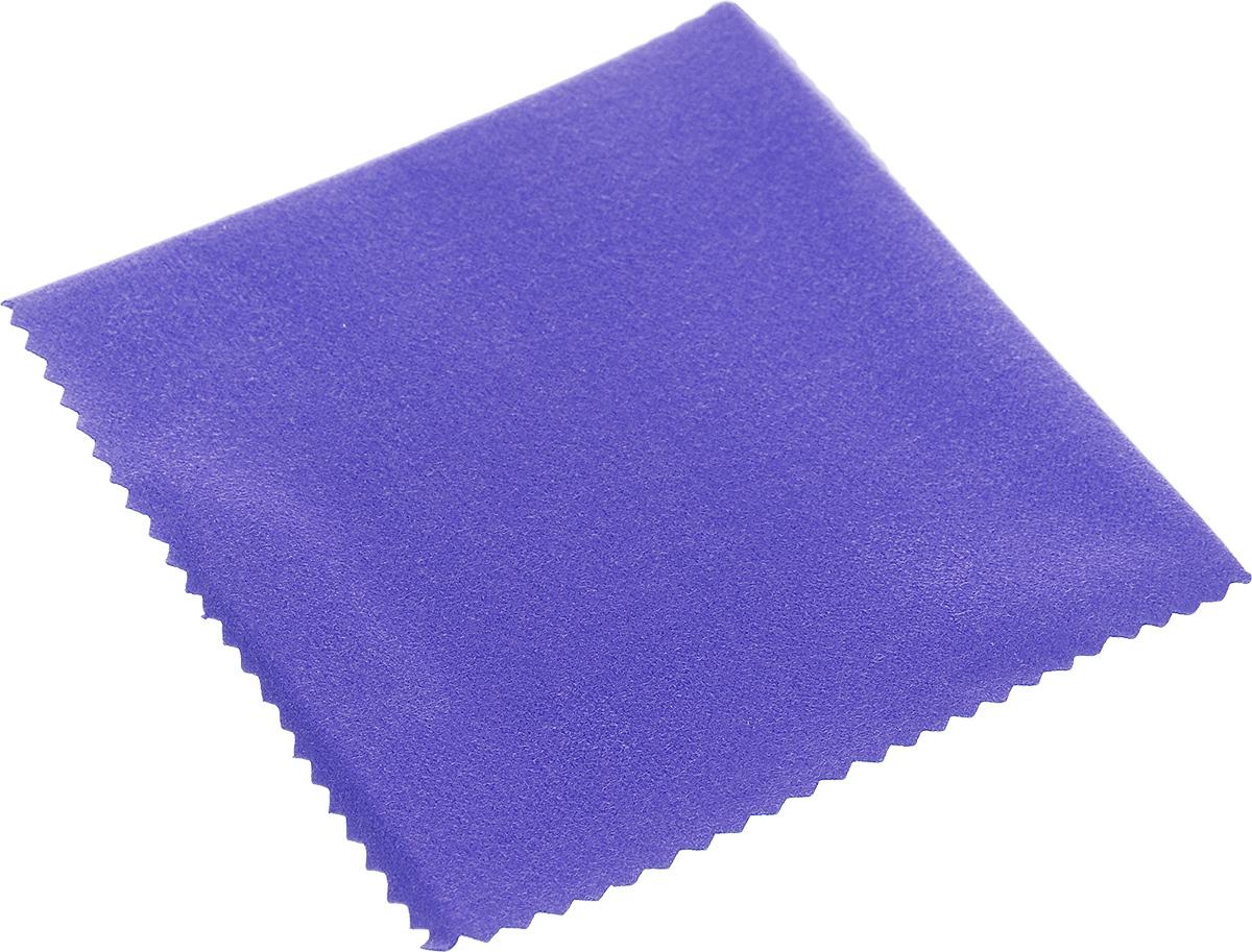 Салфетка Talisman для полировки изделий из серебра, 10 см х 10 смТ220310Салфетка Talisman, изготовленная из высококачественного текстиля, предназначена для полировки и придания зеркального блеска ювелирным украшениям из серебра. Идеальна для применения в домашних условиях. Не предназначена для стирки. Размер: 10 см х 10 см.