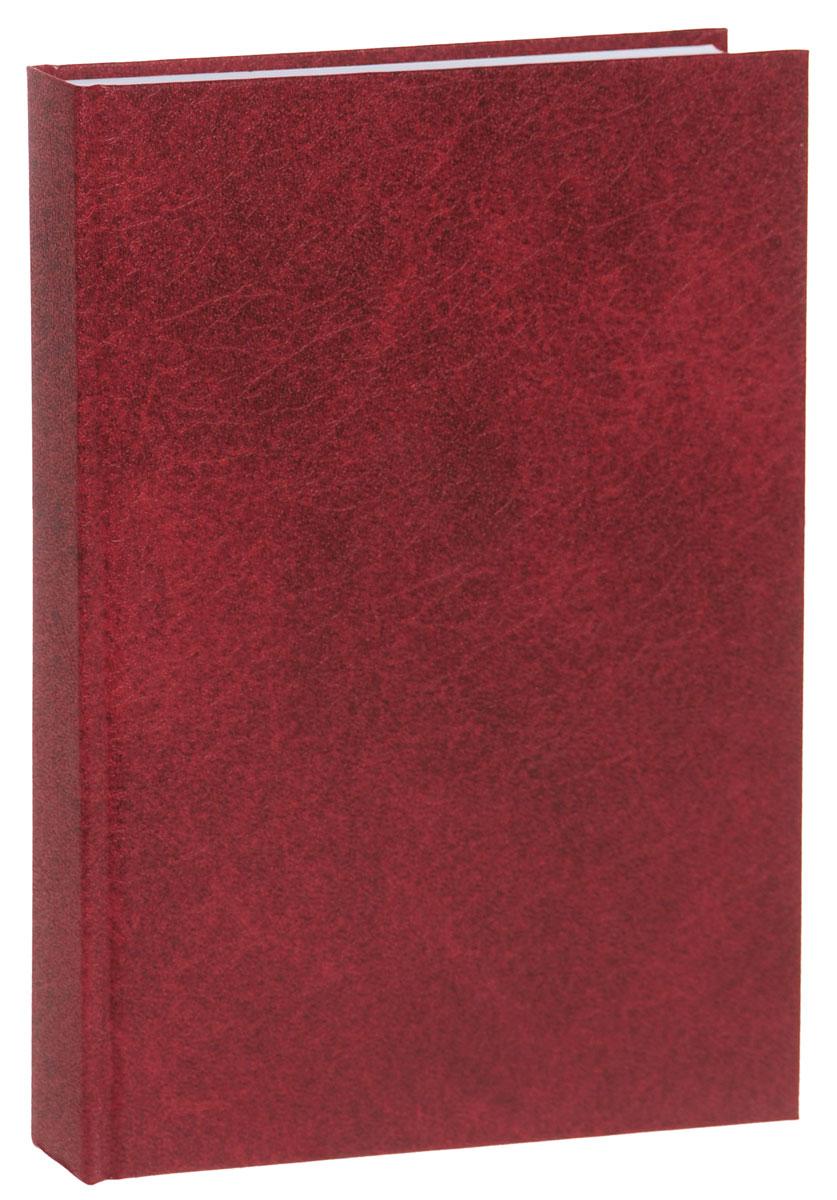 Канц-Эксмо Ежедневник полудатированный 192 листа цвет бордовый