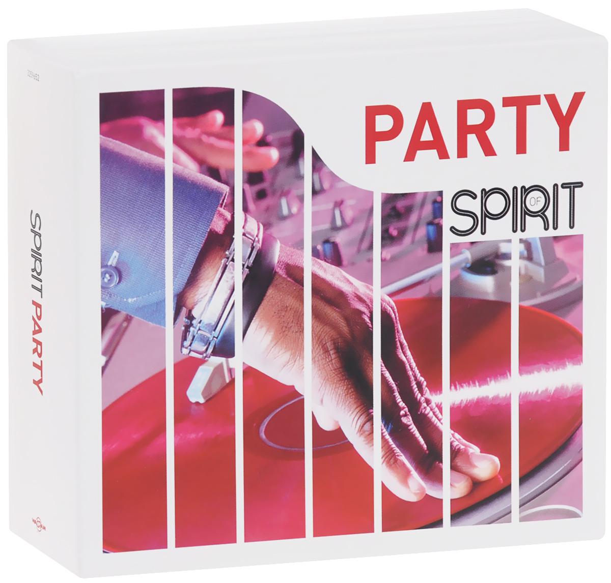 Spirit Of Party (4 CD) 2012 4 Audio CD