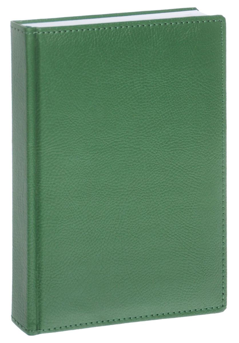 Berlingo Ежедневник Prestige Pearl Effect недатированный 176 листов цвет зеленый