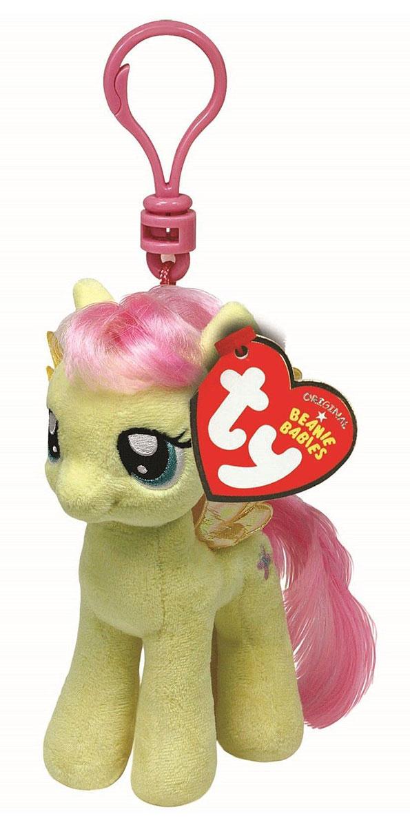 TY Мягкая игрушка-брелок Пони Fluttershy 10 см41102Мягкая игрушка-брелок Пони Fluttershy станет самым лучшим другом вашему малышу. У пони мягкая шерстка, оригинальный окрас, блестящие крылышки и огромные наклеенные глазки. С помощью пластмассового карабина брелок можно пристегнуть на пояс, к рюкзаку, сумке, повесить на связку ключей. Яркое, интересное оформление игрушки притягивает взгляд! Это отличный подарок для любого ребенка!
