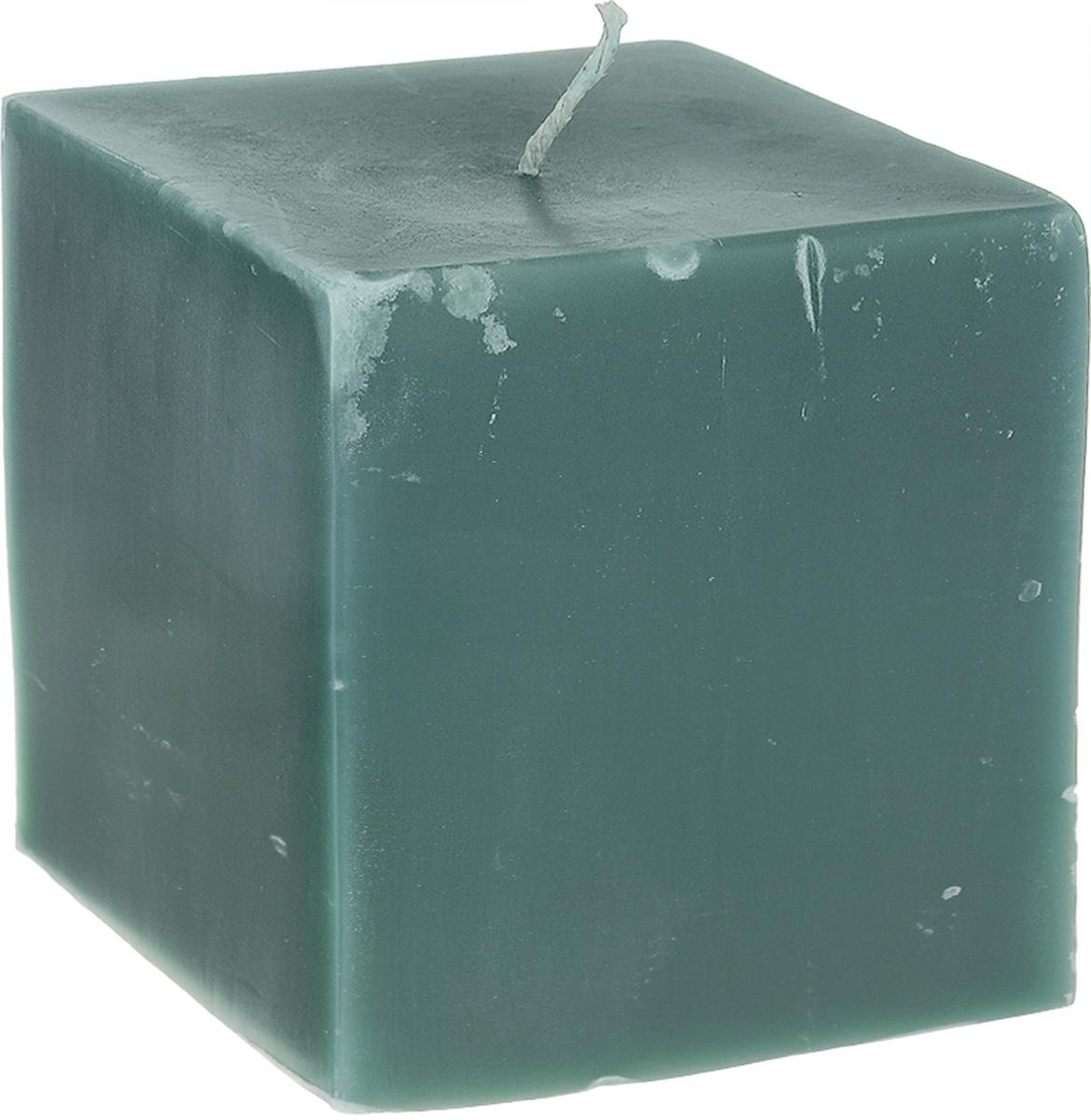 Свеча декоративная Proffi Квадрат, цвет: зеленый, 9,5 х 9,5 х 9,5 смPH3417Свеча Proffi Квадрат выполнена из парафина и стеарина в классическом стиле. Изделие порадует вас ярким дизайном. Такую свечу можно поставить в любое место, и она станет ярким украшением интерьера. Свеча Proffi Квадрат создаст незабываемую атмосферу, будь то торжество, романтический вечер или будничный день.