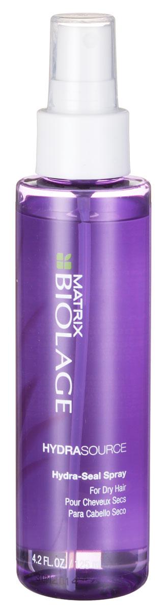Matrix Biolage Hydrasource Несмываемый спрей-вуаль 125млP0830300Несмываемый Увлажняющий Спрей-вуаль Гидрасурс восстанавливает естественный гидробаланс волоса. Возвращает волосам мягкость и блеск, обеспечивает контроль над пушистостью волос. В основе экстракт алоэ, которой способен длительно увлажнять волосы, удерживая влагу изнутри. Hydrasource - Гамма для увлажнения сухих волос Вдохновение для инновационной биоформулы: Способность алоэ надолго удерживать влагу. Волосы в 15 раз более увлажненные после 1 использования
