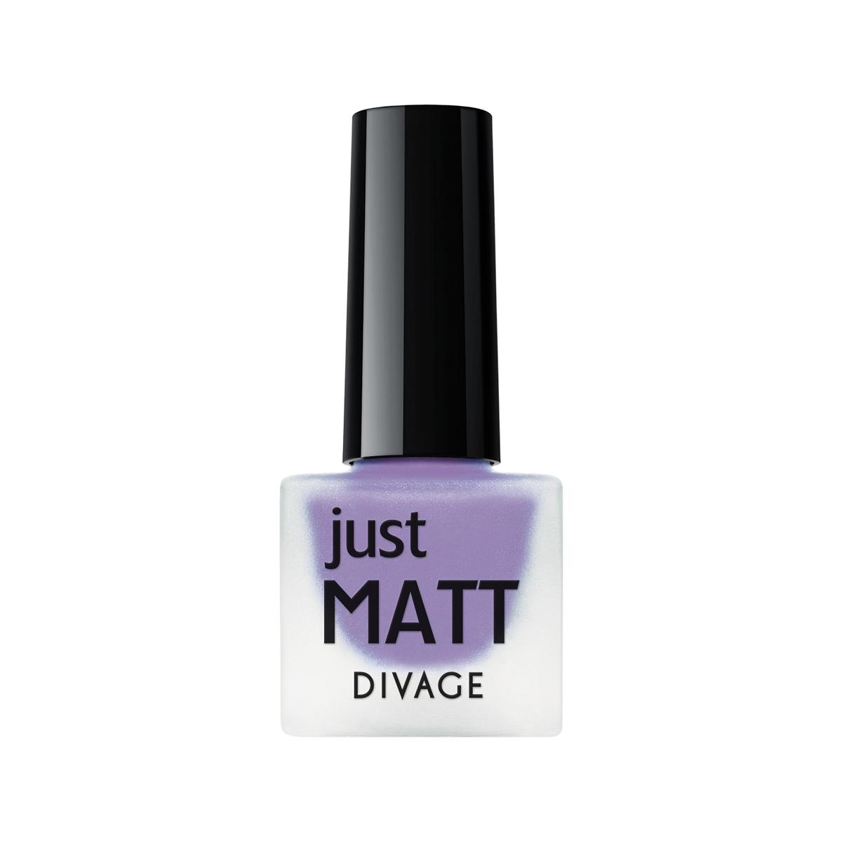 DIVAGE Лак для ногтей JUST MATT, тон № 5616, 7 мл216Лак для ногтей Divage Just Matt с матовым эффектом имеет легкую бархатистую текстуру (Soft Touch) и удобный мини формат упаковки. Наносится идеально ровно, визуально сглаживая неровности ногтевой пластины. Характеристики: Объем: 7 мл. Тон: №5616. Товар сертифицирован.