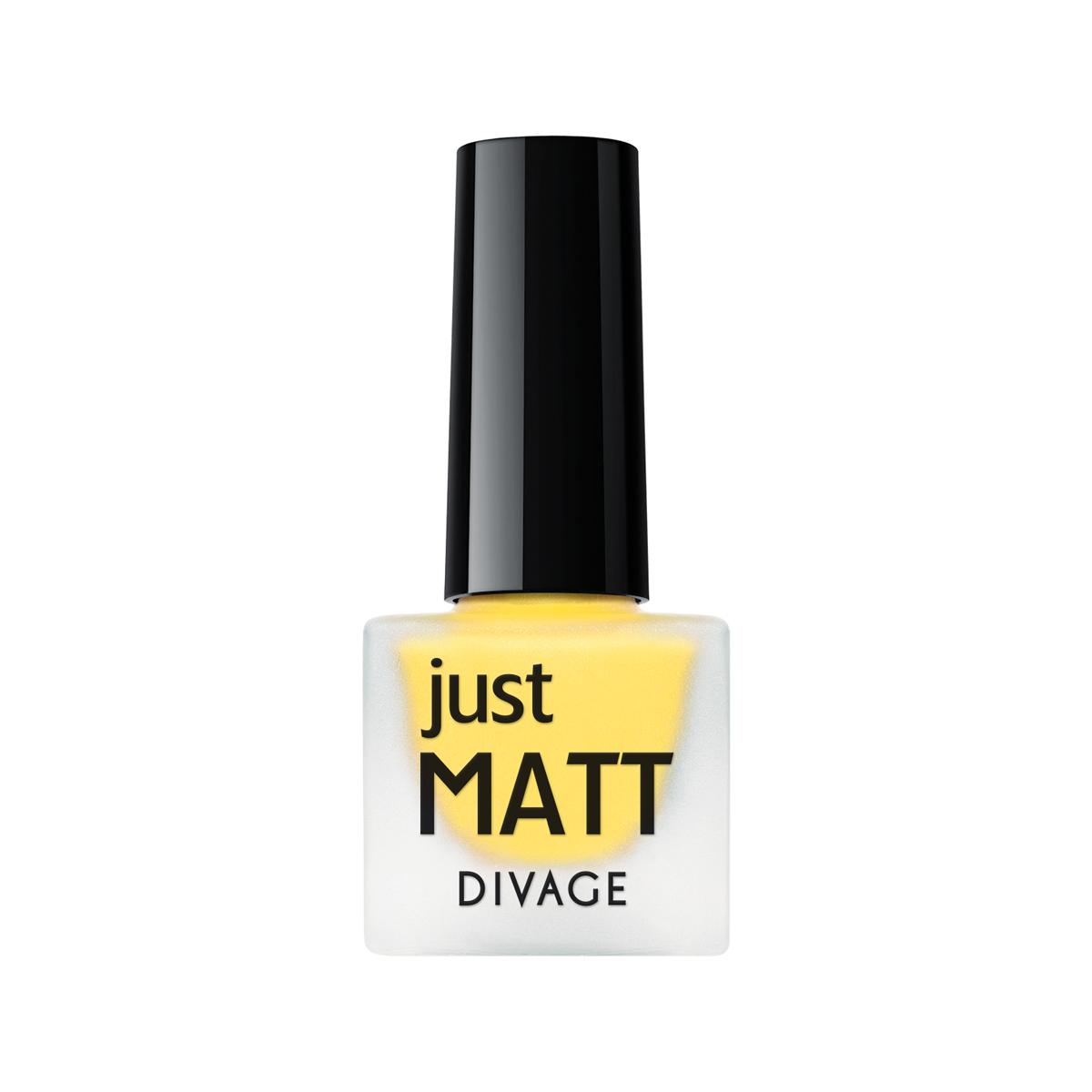 DIVAGE Лак для ногтей JUST MATT, тон № 5623, 7 мл004382Лак для ногтей Divage Just Matt с матовым эффектом имеет легкую бархатистую текстуру (Soft Touch) и удобный мини формат упаковки. Наносится идеально ровно, визуально сглаживая неровности ногтевой пластины. Характеристики: Объем: 7 мл. Тон: №5623. Товар сертифицирован.