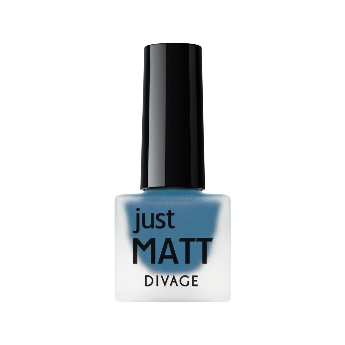 DIVAGE Лак для ногтей JUST MATT, тон № 5624, 7 мл004399Лак для ногтей Divage Just Matt с матовым эффектом имеет легкую бархатистую текстуру (Soft Touch) и удобный мини формат упаковки. Наносится идеально ровно, визуально сглаживая неровности ногтевой пластины.
