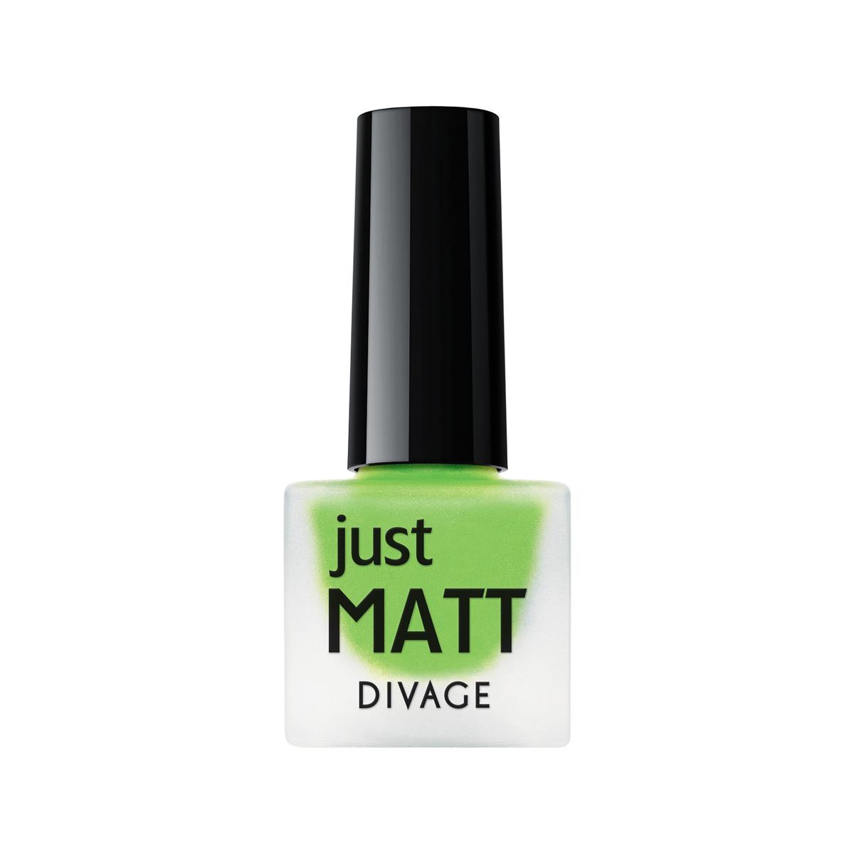 DIVAGE Лак для ногтей JUST MATT, тон № 5625, 7 мл004405Лак для ногтей Divage Just Matt с матовым эффектом имеет легкую бархатистую текстуру (Soft Touch) и удобный мини формат упаковки. Наносится идеально ровно, визуально сглаживая неровности ногтевой пластины.
