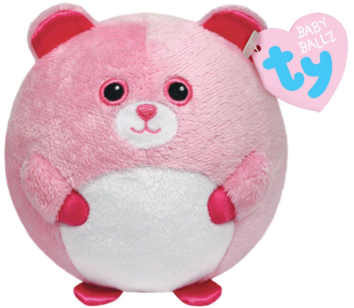 TY Мягкая игрушка Медвежонок Pinky 11 см38117Мягкая игрушка Медвежонок Pinky не оставит вас равнодушным и вызовет улыбку у каждого, кто ее увидит. Игрушка изготовлена из безопасных, приятных на ощупь материалов в виде милого розового медвежонка. Медвежонок выполнен в форме мячика. Пластиковые гранулы, используемые при набивке игрушки, способствуют развитию мелкой моторики рук ребенка. Симпатичная игрушка будет радовать вашего ребенка, а также способствовать полноценному и гармоничному развитию его личности. Великолепное качество исполнения делают эту игрушку чудесным подарком к любому празднику как для ребенка, так и взрослого человека!