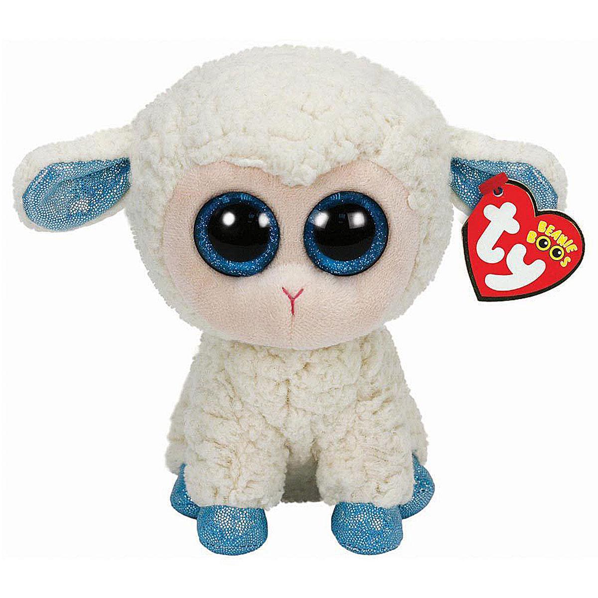 TY Мягкая игрушка Овечка Olga 15 см