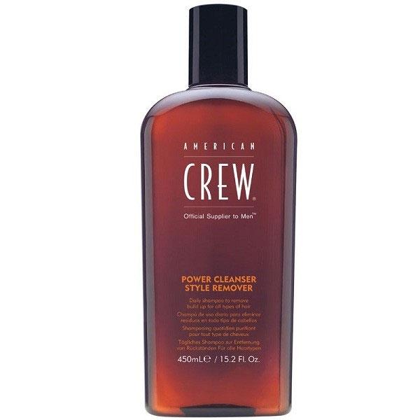 American Crew Шампунь для ежедневного ухода, очищающий волосы от укладочных средств Classic Power Cleanser Style Remover 450 мл7207891000Шампунь для ежедневного ухода, очищающий волосы от укладочных средств прекрасно подходит для волос, которые часто подвергаются воздействию укладочных средств. Данный продукт имеет сразу несколько достоинств. Шампунь American Crew способствует усилению здорового блеска волос, хорошо увлажняет волосы, замечательно питает их полезными растительными экстрактами, что способствует восстановлению структуры повреждённых волос и благоприятно влияет на кожу головы. Шампунь Американ Крю придаёт волосам живой объём, шелковистость и мягкость, защищает их от вредных воздействий внешних факторов. Шампунь Американ Крю Power Cleanser подходит для всех типов волос и ежедневного ухода, отлично тонизирует и освежает.