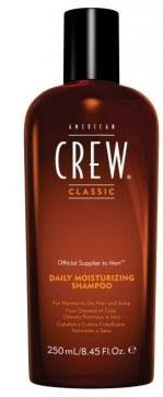 American Crew Шампунь увлажняющий Classic Daily Moisturizing Shampoo 250 мл7206896000Увлажняющий шампунь от компании American Crew это шампунь, который отлично очищает и увлажняет волосы по всей их длине. Предназначен для сухих и нормальных волос. Входящее в состав рисовое масло придает небывалый блеск и упругость локонам. А благодаря натуральным экстрактам тимьяна и розмарина волосы станут гораздо более влажными и привлекательными. Применение шампуня American Crew Daily Moisturizing Shampoo придаст необходимую мягкость и шелковистость вашим волосам.