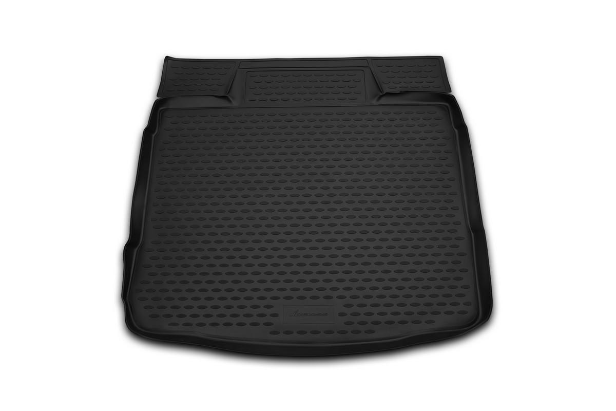 Коврик в багажник автомобиля Novline-Autofamily для Nissan Almera, 2012 -CARNIS10048Автомобильный коврик в багажник позволит вам без особых усилий содержать в чистоте багажный отсек вашего авто и при этом перевозить в нем абсолютно любые грузы. Такой автомобильный коврик гарантированно защитит багажник вашего автомобиля от грязи, мусора и пыли, которые постоянно скапливаются в этом отсеке. А кроме того, поддон не пропускает влагу. Все это надолго убережет важную часть кузова от износа. Мыть коврик для багажника из полиуретана можно любыми чистящими средствами или просто водой. При этом много времени уборка не отнимет, ведь полиуретан устойчив к загрязнениям. Если вам приходится перевозить в багажнике тяжелые грузы, за сохранность автоковрика можете не беспокоиться. Он сделан из прочного материала, который не деформируется при механических нагрузках и устойчив даже к экстремальным температурам. А кроме того, коврик для багажника надежно фиксируется и не сдвигается во время поездки - это дополнительная гарантия сохранности вашего багажа.