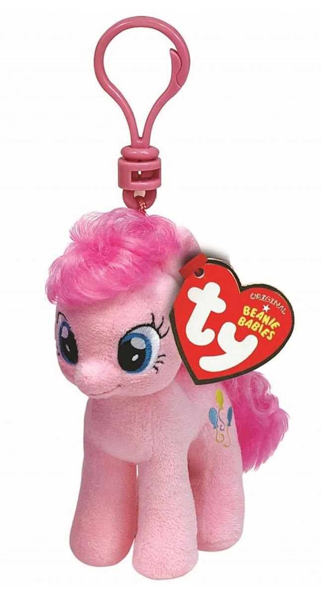 TY Мягкая игрушка-брелок Пони Pinkie Pie 10 см41103Мягкая игрушка-брелок Пони Pinkie Pie станет самым лучшим другом вашему малышу. У пони мягкая шерстка, оригинальный окрас и огромные наклеенные глазки. С помощью пластмассового карабина брелок с пони можно пристегнуть на пояс, к рюкзаку, сумке, повесить на связку ключей. Яркое, интересное оформление игрушки притягивает взгляд! Это отличный подарок для любого ребенка!