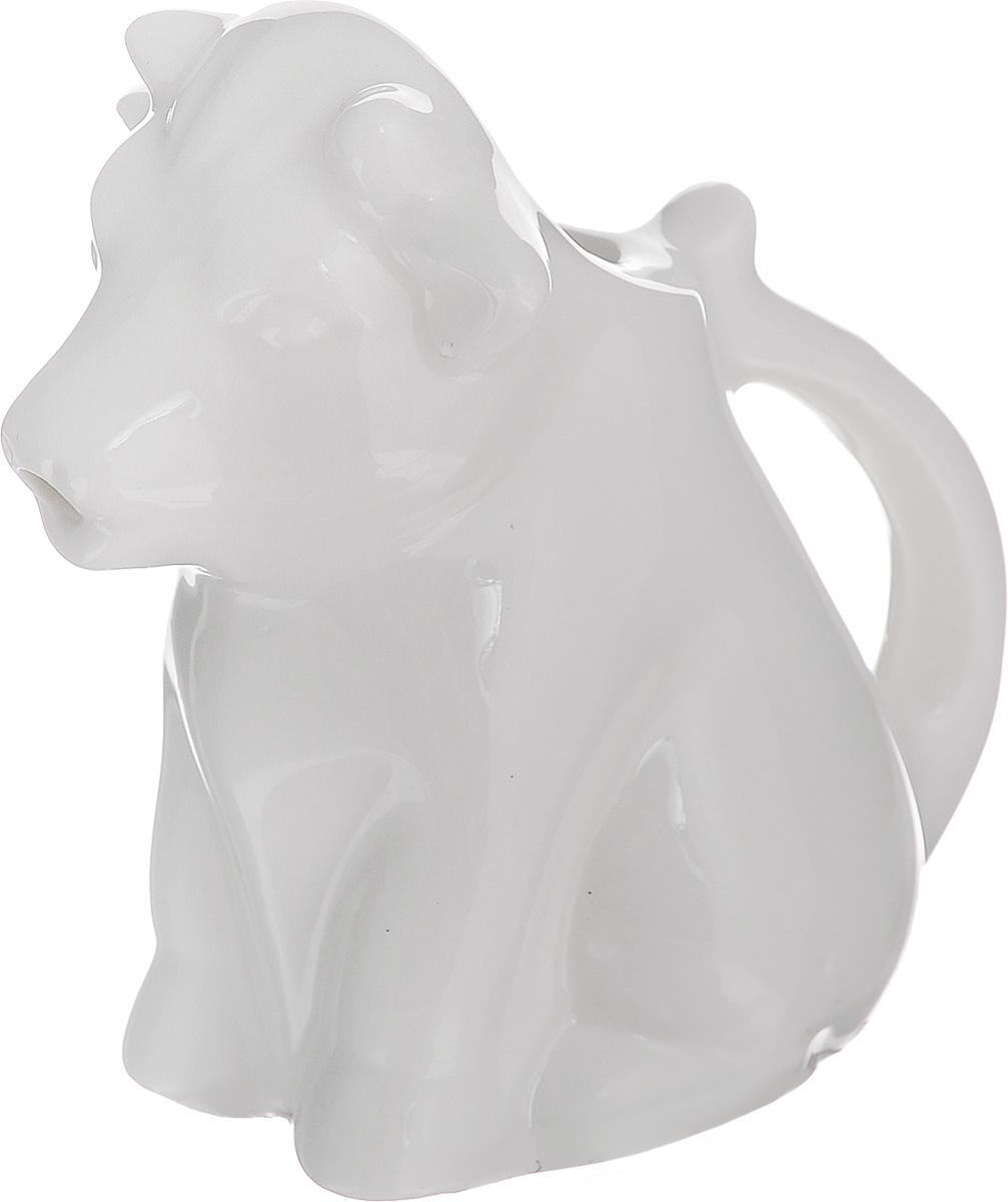Молочник Walmer Cow, цвет: белый, 50 млW10800008Молочник Walmer Cow, изготовленный из высококачественного фарфора, предназначен для подачи сливок, соуса и молока. Изящный, но в тоже время простой дизайн молочника, станет прекрасным украшением стола. Размер молочника: 8 х 5 х 8 см.