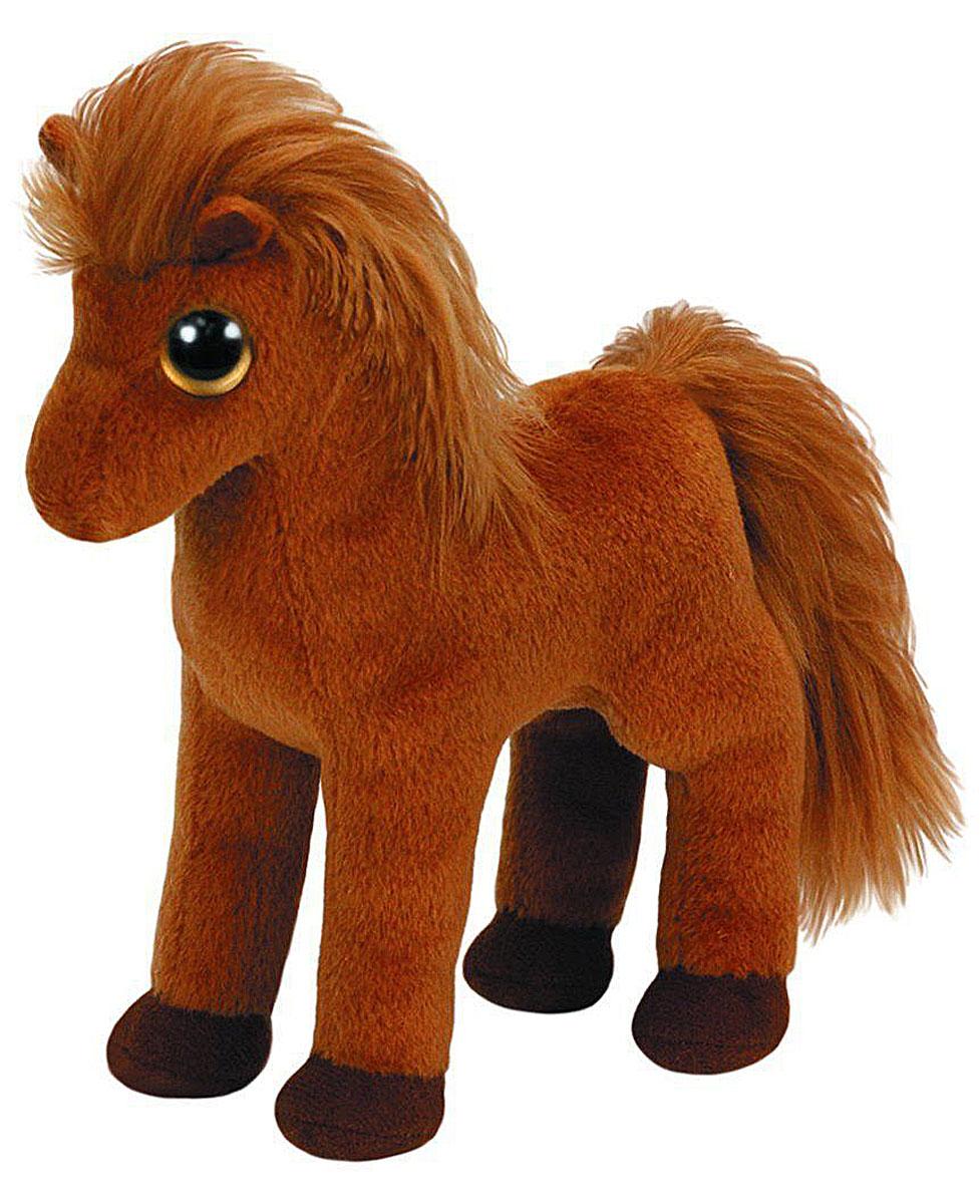 TY Мягкая игрушка Лошадка Gallops 17 см41145Мягкая игрушка Лошадка Gallops обязательно вызовет положительные эмоции и улыбку у каждого. Игрушка изготовлена из безопасных, приятных на ощупь материалов в виде коричневой лошадки. У игрушки длинная грива и огромные пластиковые глазки. Гранулы из пластика, используемые при набивке игрушки, способствуют развитию мелкой моторики рук ребенка. Симпатичная игрушка будет радовать вашего ребенка, а также способствовать полноценному и гармоничному развитию его личности. Великолепное качество исполнения делают эту игрушку чудесным подарком к любому празднику, как для ребенка, так и взрослого человека!