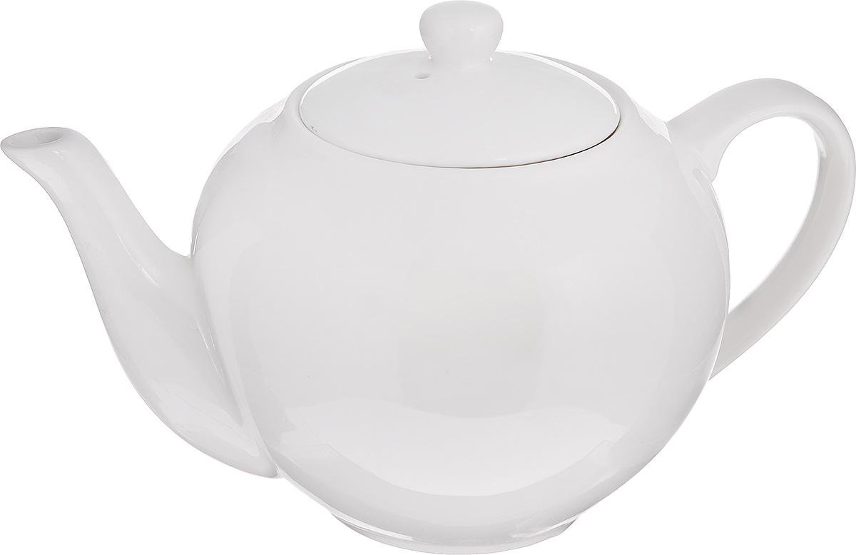 Чайник заварочный Walmer Classic, цвет: белый, 500 млW10500050Заварочный чайник Walmer Classic изготовлен из высококачественного фарфора. Гладкая и идеально ровная поверхность обеспечивает легкую очистку. Изделие прекрасно подходит для заваривания вкусного и ароматного чая, травяных настоев. Оригинальный дизайн сделает чайник настоящим украшением стола. Он удобен в использовании и понравится каждому. Диаметр чайника (по верхнему краю): 8 см. Высота чайника (без учета крышки): 10 см.