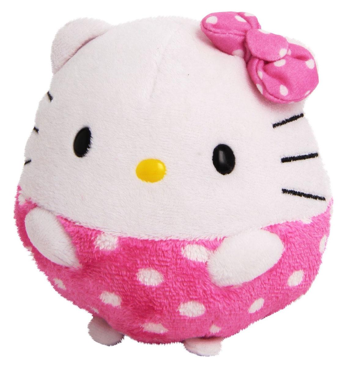 TY Мягкая игрушка Hello Kitty 20 см38530-noМягкая игрушка Hello Kitty обязательно вызовет положительные эмоции и улыбку у каждого. Игрушка изготовлена из безопасных, приятных на ощупь материалов в виде бело-розовой кошечки Китти. Игрушка выполнена в виде мячика. Гранулы из пластика, используемые при набивке игрушки, способствуют развитию мелкой моторики рук ребенка. Симпатичная игрушка будет радовать вашего ребенка, а также способствовать полноценному и гармоничному развитию его личности. Великолепное качество исполнения делают эту игрушку чудесным подарком к любому празднику, как для ребенка, так и взрослого человека!