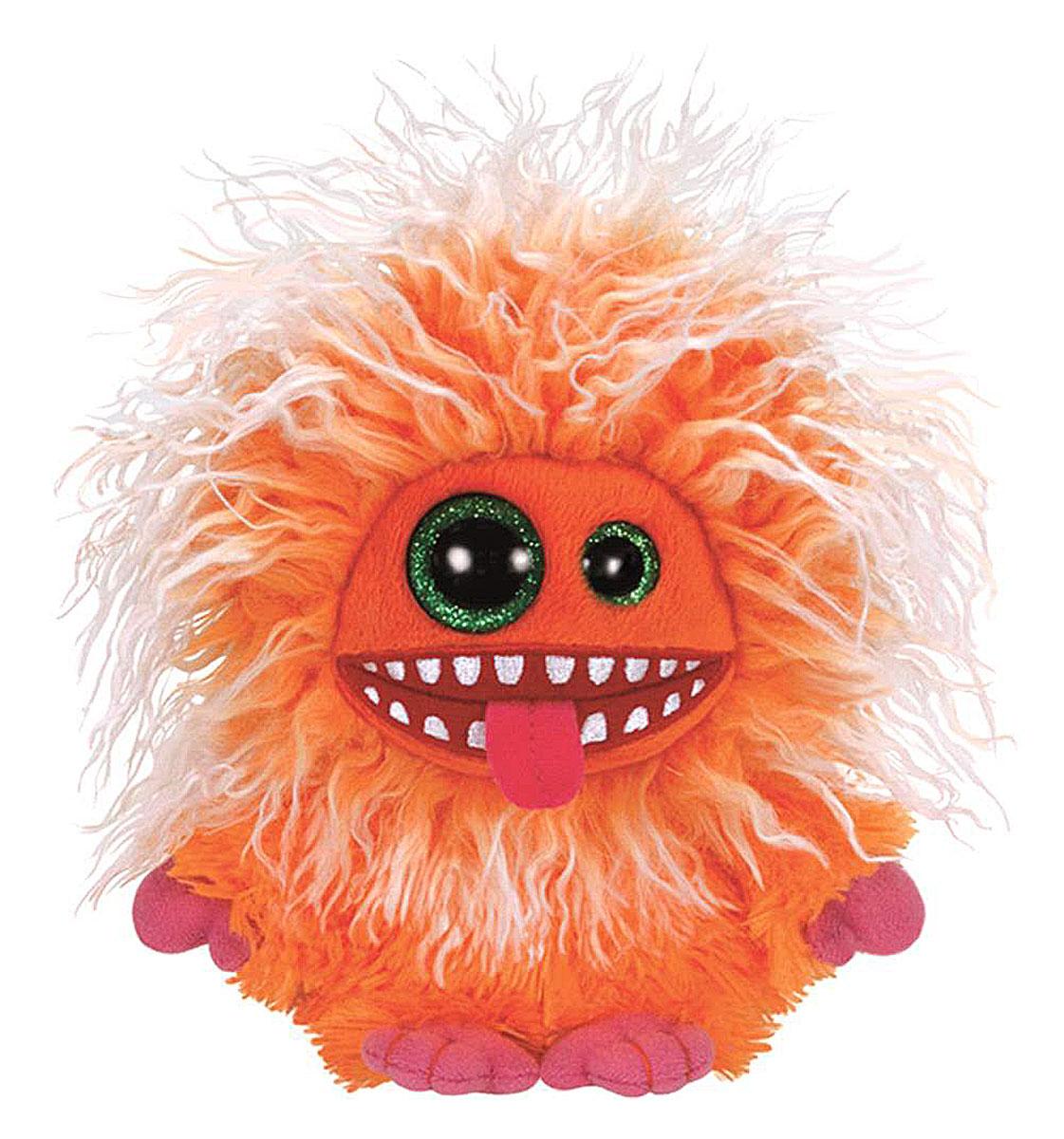 TY Мягкая игрушка Домовенок Plopsy 15 см37135пцМягкая игрушка Plopsy вызовет улыбку у каждого, кто ее увидит. Игрушка изготовлена из безопасных, приятных на ощупь материалов в виде милого мохнатого домовенка. Яркий монстрик Plopsy, с зелеными глазками разного размера, еще никого не оставлял равнодушным! У Plopsy мягкая оранжевая шерстка и розовые лапки. Пластиковые гранулы, используемые при набивке игрушки, способствуют развитию мелкой моторики рук ребенка. Симпатичная игрушка будет радовать вашего ребенка, а также способствовать полноценному и гармоничному развитию его личности. Великолепное качество исполнения делают эту игрушку чудесным подарком к любому празднику, как для ребенка, так и взрослого человека!