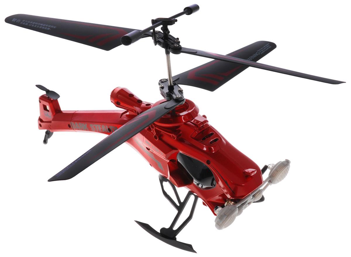 Auldey Вертолет на инфракрасном управлении Dark Stealth цвет красный1121071Вертолет на инфракрасном управлении Auldey Dark Stealth c трехканальным управлением и встроенным гироскопом отлично подходит для полетов в закрытых помещениях и на улице. Гироскоп предназначен для курсовой стабилизации полета. Игрушка выполнена из прочного пластика и имеет два основных винта и один хвостовой. Вертолет стабилен в воздухе и легко управляется. Пульт управления позволяет вертолету летать в любом направлении, снижаться и набирать высоту. Эта увлекательная игрушка понравится не только детям, но и взрослым, и подарит вам множество счастливых мгновений. Вертолет работает от встроенного аккумулятора, который можно заряжать от USB-шнура (входит в комплект). Для работы пульта управления необходимо докупить 6 батареек напряжением 1,5V типа АА (в комплект не входят).