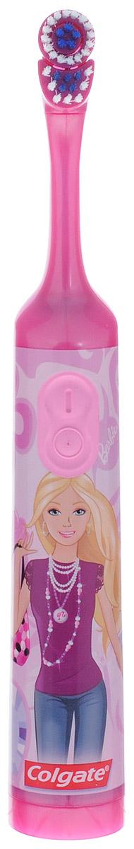 Colgate Электрическая зубная щетка Barbie с мягкой щетиной цвет розовый FCN10038