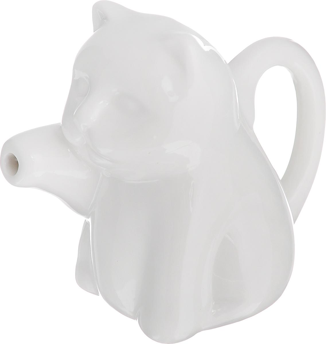 Молочник Walmer Саt, цвет: белый, 60 млW10130010Молочник Walmer Саt, изготовленный из высококачественного фарфора, предназначен для подачи сливок, соуса и молока. Изящный, но в тоже время простой дизайн молочника, станет прекрасным украшением стола. Размер молочника: 9 х 5 х 7,5 см.