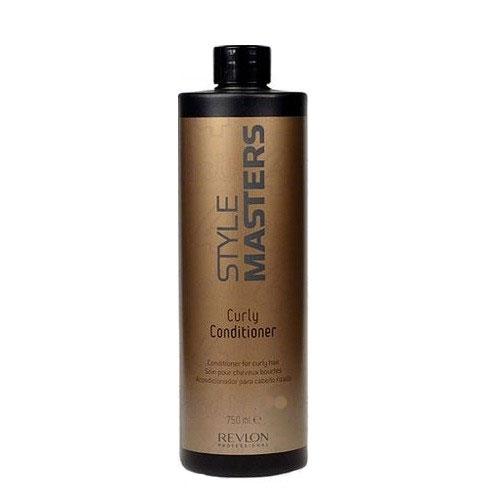 Revlon Professional Style Кондиционер для вьющихся волос Masters Curly Conditioner 750 мл7207638000Revlon Professional Style Masters Curly Conditioner Кондиционер для вьющихся волос создан для полноценного и тщательного ухода за вьющимися волосами. Данный продукт компании Revlon Professional, в состав которого входят натуральные компоненты, эффективно восстанавливает волосы, а также укрепляет их, придаёт им силу и красивый блеск, сохраняя их естественный цвет. Кондиционер Ревлон Профессионал Style Masters не сушит волосы и кожу головы, прекрасно повышает послушность и мягкость вьющихся волос, снимает с них эффект статического электричества, значительно облегчает процесс расчёсывания. Средство от компании Revlon делает волосы эластичными и мягкими. Для получения наилучшего результата кондиционер Revlon Style Masters Curly рекомендуется использовать после применения шампуня для вьющихся волос.