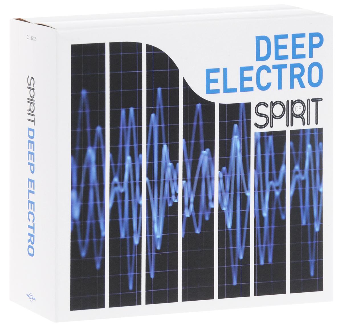 Spirit Of Deep Electro (4 CD) 2014 4 Audio CD