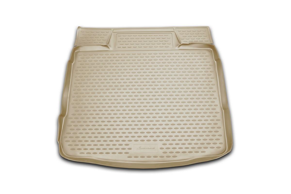 """Коврик автомобильный """"Novline-Autofamily"""" для Chevrolet Captiva кроссовер 06/2006-2011, в багажник, цвет: бежевый"""