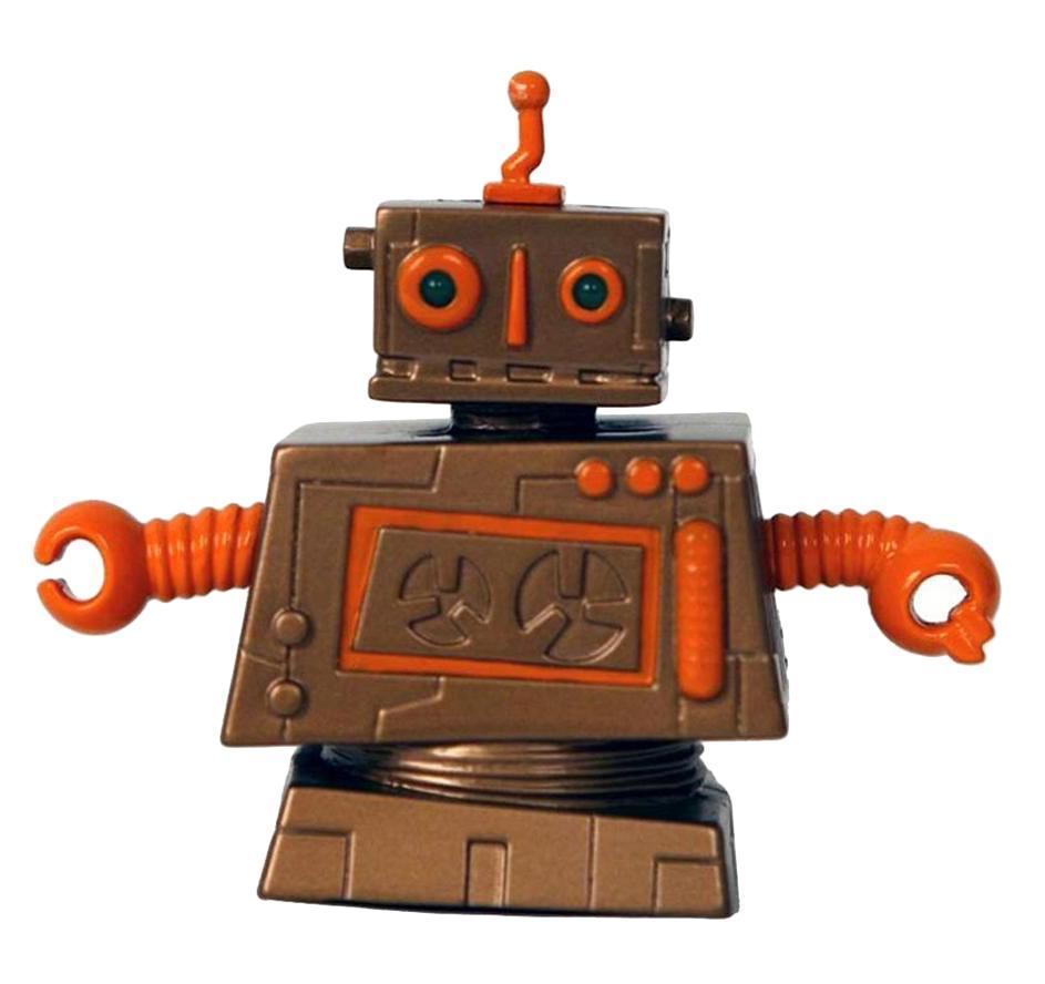 Радиоуправляемый мини-робот Zibits Кланк30427Коллекционный мини-робот Кланк отличается оригинальным дизайном, некоторые его детали светятся в темноте. Он очень быстро двигается вперед и назад, разворачивается на 360 градусов, а также издает потрясающие звуки. В комплекте удобный пульт дистанционного управления. Собери всю коллекцию роботов. Всего 12 уникальных дизайнерских разработок.
