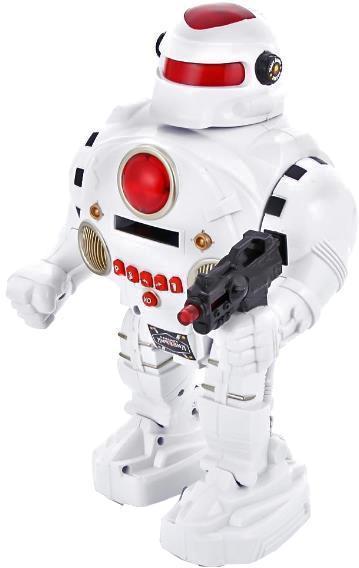 Joy Toy Робот на радиоуправлении Защитник планеты цвет белый119942/А224-Н08035С какими игрушками любят играть все без исключения мальчишки? Правильно, с роботами. А уж радиоуправляемые модели точно вызовут неподдельный восторг! Представленный игровой программируемый робот с дистанционным управлением от торговой марки «JOY TOY» имеет звуковые эффекты и умеет говорить несколько фраз.