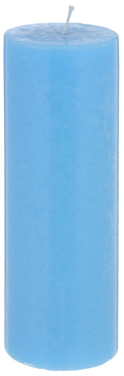 Свеча декоративная Proffi Home Столбик, цвет: голубой, высота 20 смPH3432Декоративная свеча Proffi Home Столбик выполнена из парафина и стеарина в классическом стиле. Изделие порадует вас ярким дизайном. Такую свечу можно поставить в любое место, и она станет ярким украшением интерьера. Свеча Proffi Home создаст незабываемую атмосферу, будь то торжество, романтический вечер или будничный день.