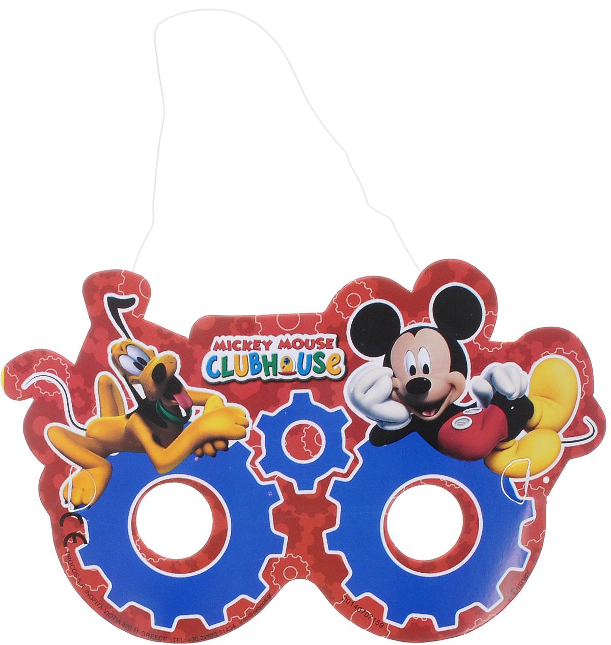 Procos Маска карнавальная Микки Маус 6 шт81521Маска карнавальная Procos Микки Маус оживит любой детский праздник и не позволит вашему ребенку заскучать. Маска выполнена в красно-синих тонах и украшена изображением Микки Мауса. Одев такую маску, ваш малыш будет самозабвенно играть, веселясь и позабыв про все на свете. Маска выполнена из картона, не имеет острых краев и зазубрин, так что абсолютно безопасна для малышей. Изделие на резинке, поэтому легко подогнать под нужный размер. Маска карнавальная Procos Микки Маус является отличным решением для карнавалов, утренников и просто детских праздников. В наборе: 6 карнавальных масок.