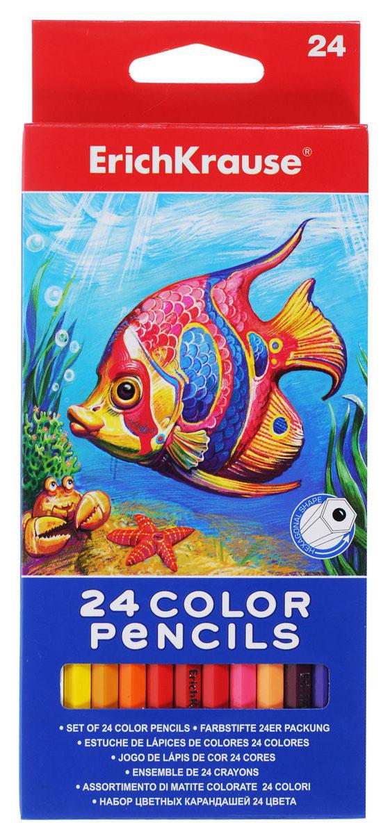 Erich Krause Набор цветных карандашей 24 цвета