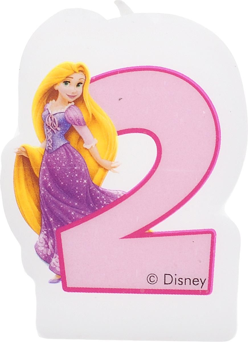 Procos Свеча для торта детская Принцессы 2 года