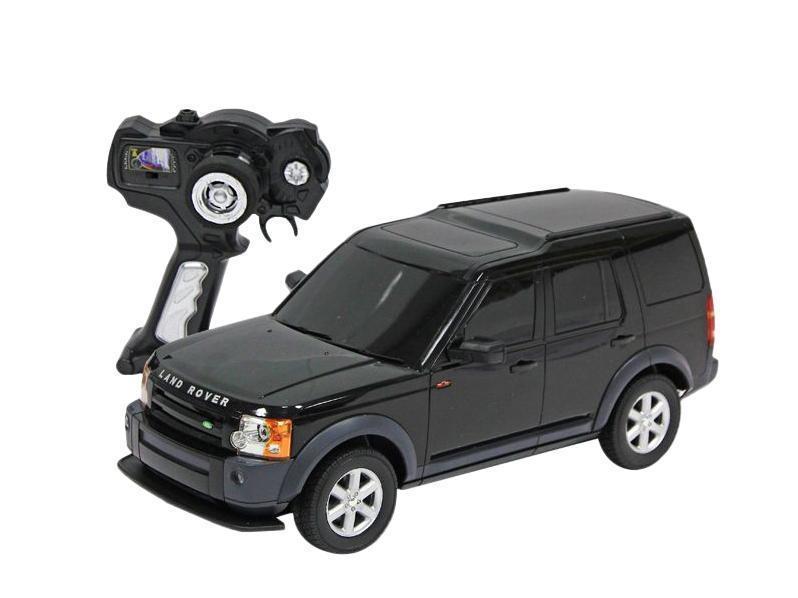 Rastar Радиоуправляемая модель Land Rover Discovery 3 цвет черныйLR3-14/21900Радиоуправляемая модель автомобиля Land Rover Discovery 3 от компании Rastar выполнена в масштабе 1:14. Для успешной работы машинки необходимо 5 батареек AA и батарейка 9V для пульта дистанционного управления. Модель осуществляет движение вперед-назад, право-влево. При это у нее еще горят фары, что придает игре большую реалистичность. Радиоуправляемая машинка развивает скорость до 12 км/ч, управлять ей вы сможете на расстоянии не боле 45 метров. Цвет в ассортименте. Игрушка безусловно привлечет внимание вашего малыша, а процесс игры подарит ему новые, яркие эмоции