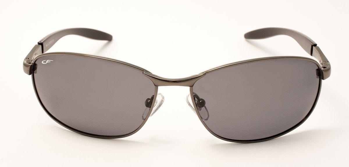 Очки мужские, поляризационные Cafa France, цвет: серый. CF986/2