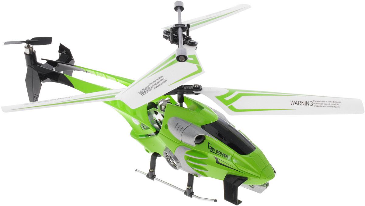 Auldey Вертолет на радиоуправлении Navigator цвет салатовыйYW858164Вертолет на инфракрасном управлении Auldey Navigator - игрушка, которая обязательно понравится вашему ребенку. Каркас вертолета выполнен из пластика с использованием металла и идеально подходит для игры как внутри помещения, так и на улице. Он может летать на разной высоте вперед и назад, поворачивать вправо и влево. Вертолет оснащен 3-канальным управлением, имеет круиз-контроль и встроенный гироскоп, благодаря которому модель обладает высокой стабильностью полета. Это позволит полностью контролировать процесс полета, управлять без суеты и страха сломать игрушку. Каждый запуск вертолета Auldey Navigator принесет яркие впечатления вам и вашему ребенку! Красивый дизайн, мощный двигатель позволяют получить максимум позитивных эмоций от игры. Радиоуправляемые игрушки развивают у ребенка мелкую моторику, логику, координацию движений и пространственное мышление. Порадуйте своего малыша таким замечательным подарком! Вертолет работает от встроенного...