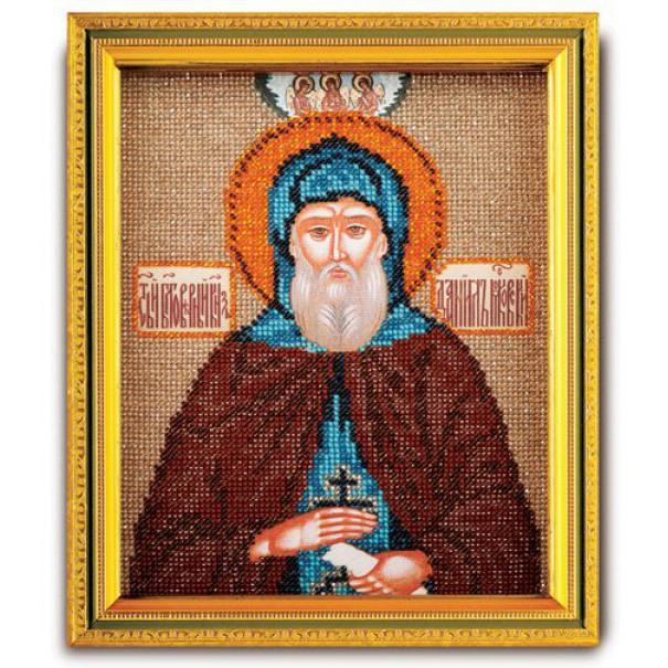 Набор для вышивания бисером Кроше Святой Даниил, 12 х 14,5 смВ-348Набор для вышивания бисером Кроше Святой Даниил поможет вам создать великолепную вышитую икону на канве, которая помещается в ладонь и выглядит как предмет ювелирного искусства. Именная икона содержит в себе высокую духовную ценность, рукотворно воплощая образ Святого покровителя, небесного заступника. Святой становится нашим покровителем на весь жизненный путь. В день, когда Святого почитает Православная Церковь, человек, нареченный в его честь, празднует именины (День Ангела). Поэтому эти иконы всегда почитались на Руси. Каждый верующий имел икону с изображением своего Святого покровителя. Техника вышивания бисером - полукрест. Набор содержит: - ювелирный бисер, - канва с фотореалистичным рисунком и схемой, - игла бисерная, - цветная схема, - подробная инструкция на русском языке. Время на изготовление: 40 часов. УВАЖАЕМЫЕ КЛИЕНТЫ! Обращаем ваше внимание, на тот факт, что рамка в...
