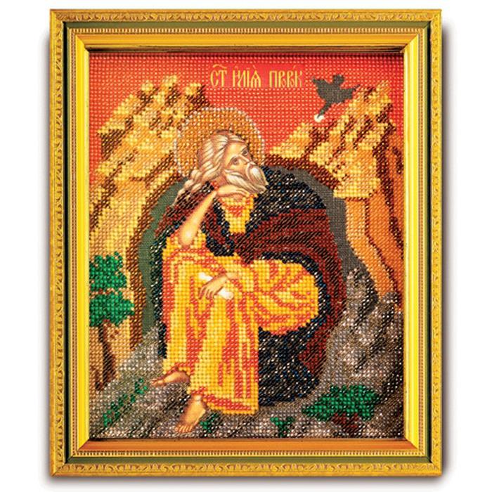 Набор для вышивания бисером Кроше Святой Илья Пророк, 12 х 14,5 смВ-355Набор для вышивания бисером Кроше Святой Илья Пророк поможет вам создать великолепную вышитую икону на канве, которая помещается в ладонь и выглядит как предмет ювелирного искусства. Именная икона содержит в себе высокую духовную ценность, рукотворно воплощая образ Святого покровителя, небесного заступника. Святой становится нашим покровителем на весь жизненный путь. В день, когда Святого почитает Православная Церковь, человек, нареченный в его честь, празднует именины (День Ангела). Поэтому эти иконы всегда почитались на Руси. Каждый верующий имел икону с изображением своего Святого покровителя. Техника вышивания бисером - полукрест. Набор содержит: - ювелирный бисер, - канва с фотореалистичным рисунком и схемой, - игла бисерная, - цветная схема, - подробная инструкция на русском языке. Время на изготовление: 40 часов. УВАЖАЕМЫЕ КЛИЕНТЫ! Обращаем ваше внимание, на тот факт, что рамка в...