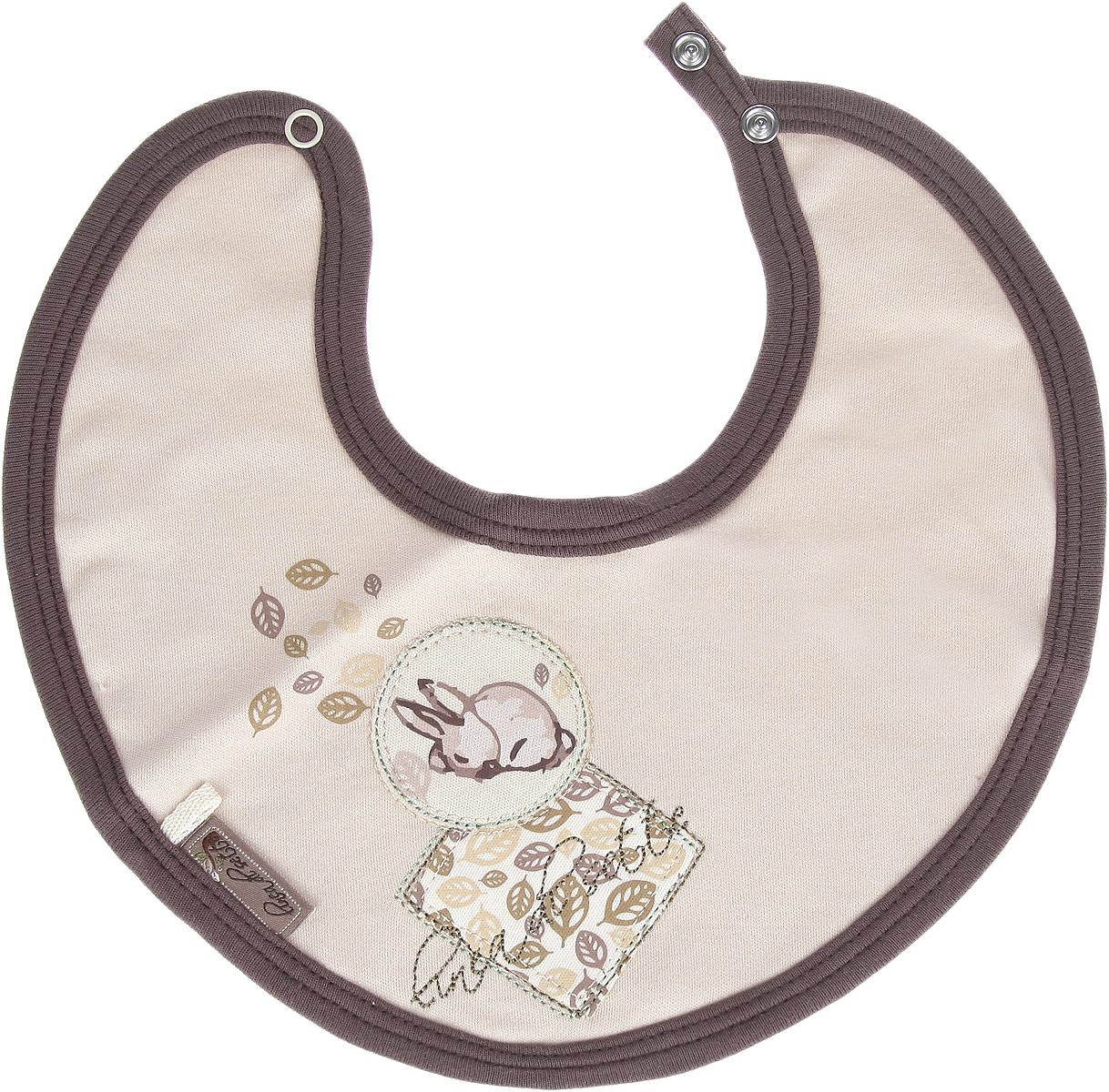Linea Di Sette Нагрудник детский Зайка от 0 до 3 месяцев01-0103Детский нагрудник Зайка станет незаменимым помощником маме при кормлении малыша от 0 до 3 месяцев. Нагрудник регулируется по размеру двумя металлическими кнопками. Нагрудник защитит одежду вашего крохи от загрязнений.
