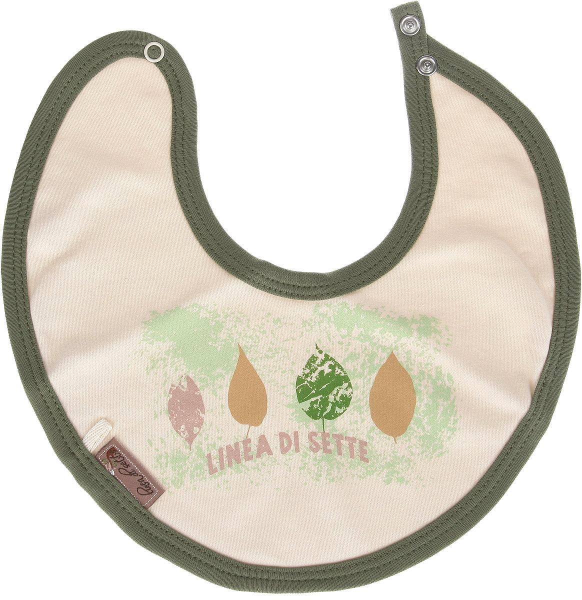 Linea Di Sette Нагрудник детский Ботаника от 0 до 3 месяцев