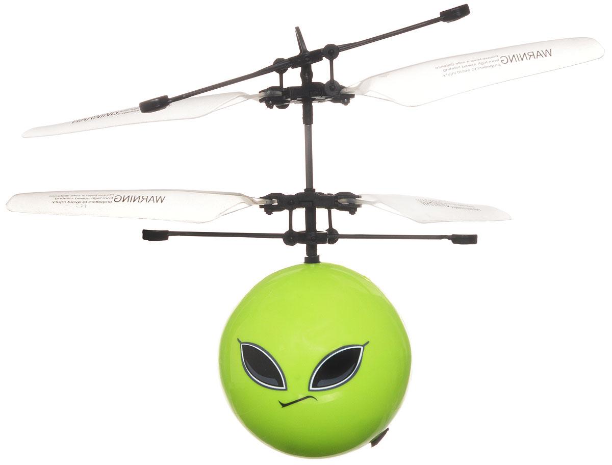 Auldey Летающий шар на радиоуправлении Sky Rover Spirit цвет салатовыйYW859120-5Летающий шар на радиоуправлении - интересная и увлекательная игрушка. Управлять данным летающим устройством можно посредством приближения к нему собственной ладони - поднесите ладонь под шар, чтобы он поднялся выше и уберите ладонь, чтоб он начал снижение.