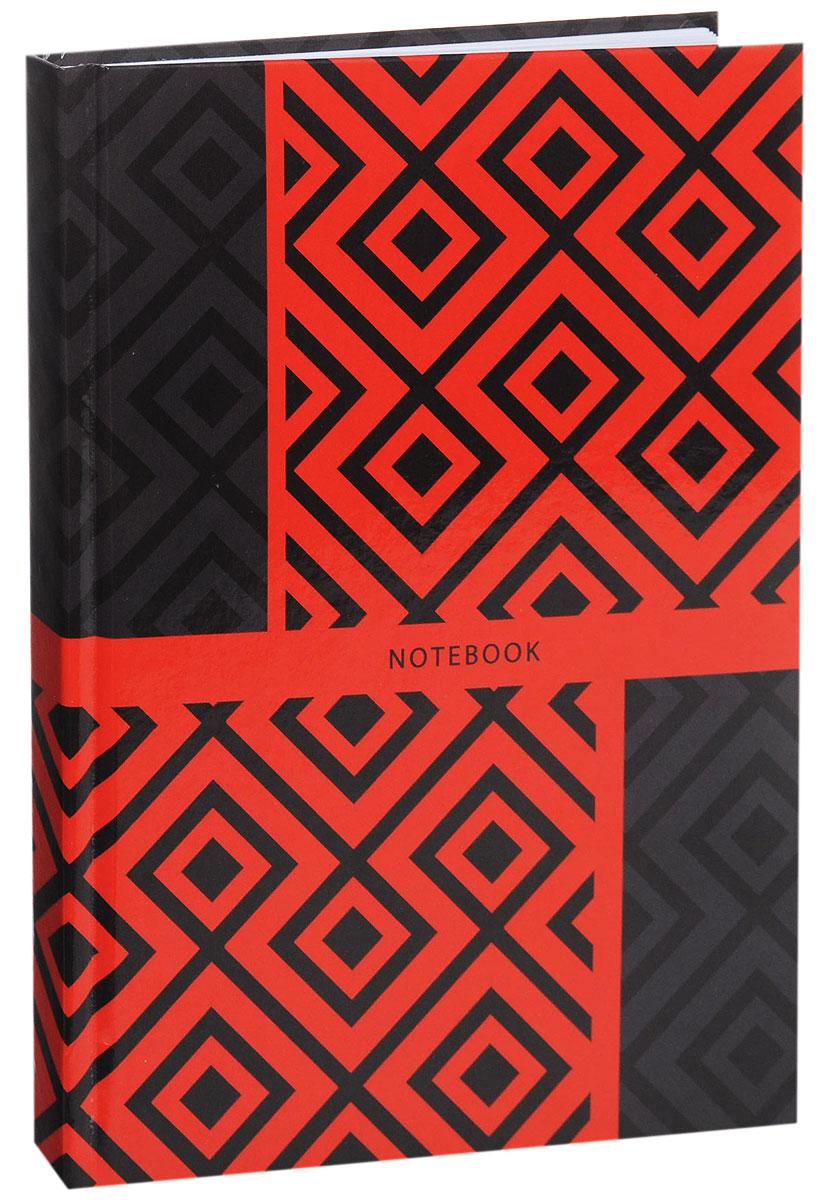 Listoff Записная книжка Красно-серый орнамент 130 листов в клеткуКЗ51301746Записная книжка Listoff Красно-серый орнамент - незаменимый атрибут современного человека, необходимый для рабочих и повседневных записей в офисе и дома. Записная книжка содержит 130 листов формата А5 в клетку без полей. Обложка, выполненная из ламинированного картона, украшена ярким геометрическим орнаментом. Внутренний блок изготовлен из высококачественной плотной бумаги, что гарантирует чистоту записей и отсутствие клякс. Книга для записей Listoff Красно-серый орнамент станет достойным аксессуаром среди ваших канцелярских принадлежностей. Она подойдет как для деловых людей, так и для любителей записывать свои мысли, рисовать скетчи, делать наброски.