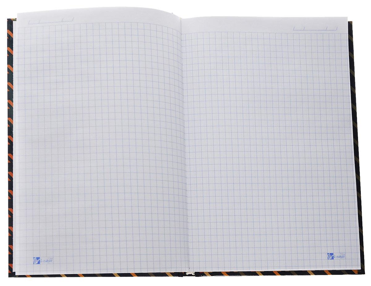 Listoff Записная книжка Пестрый орнамент 130 листов в клетку