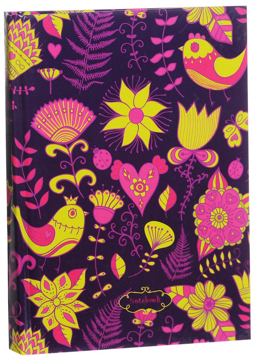 Listoff Записная книжка Сказочный орнамент 80 листов в клетку