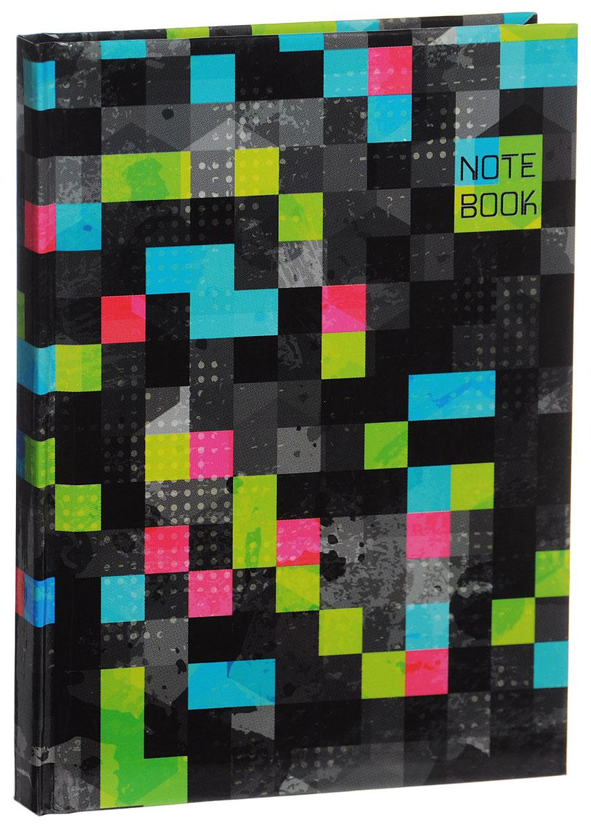 Listoff Записная книжка Яркие краски 80 листов в клетку