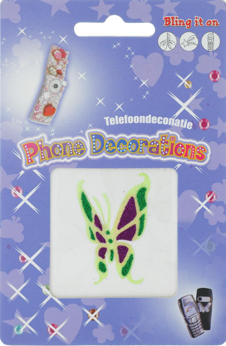 Наклейка декоративная с блестками Айрис, для мобильного телефона. 7701019_1019/72307701019_1019/7230Декоративная наклейка Айрис выполнена в виде бабочки и украшена блестками. Изделие оснащено задней клейкой стороной. Такая наклейка подойдет для оформления мобильного телефона, а также творческих работ в технике скрапбукинг. Наклейку можно использовать для украшения фотоальбомов, скрап-страничек, подарков, конвертов, фоторамок, открыток и многого другого. Скрапбукинг - это хобби, которое способно приносить массу приятных эмоций не только человеку, который этим занимается, но и его близким, друзьям, родным. Это невероятно увлекательное занятие, которое поможет вам сохранить наиболее памятные и яркие моменты вашей жизни, а также интересно оформить интерьер дома. Декоративная наклейка Айрис поможет добавить оригинальности и эксклюзивности окружающих вас предметов и будет радовать глаз. Размер наклейки: 5 х 3,3 см.