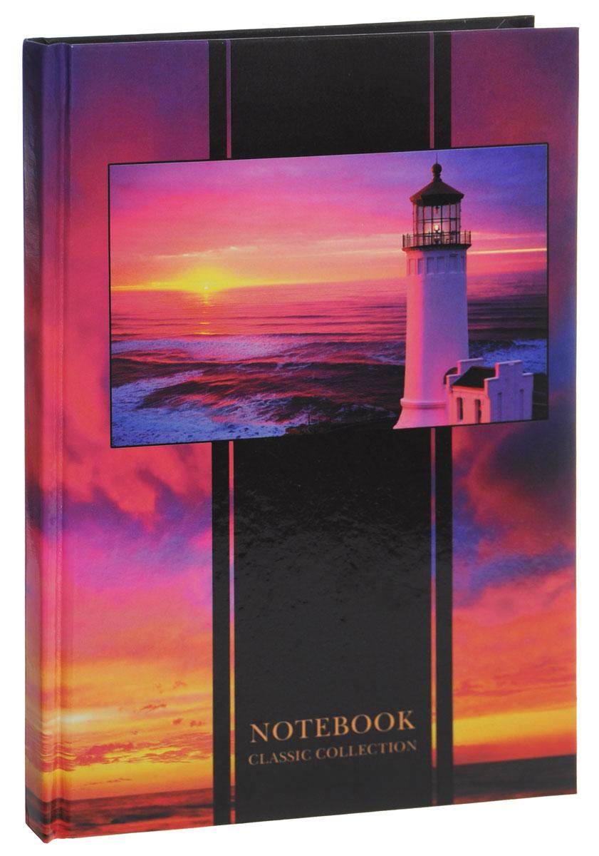 Listoff Записная книжка Маяк на закате 80 листов в клетку